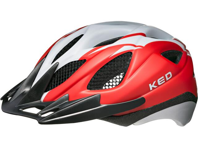 KED Tronus Helmet Red Pearl Matt